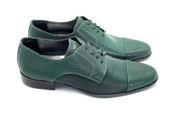 scarpa uomo verde