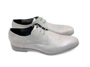 scarpa uomo grigio perla