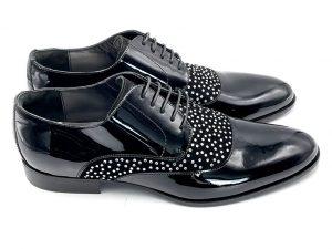 scarpa uomo con swarowsky